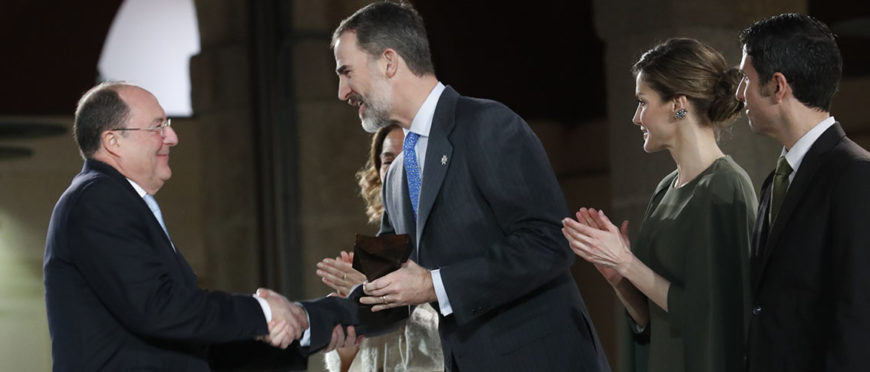 Carlos Moro recibe El Premio Nacional de Innovación